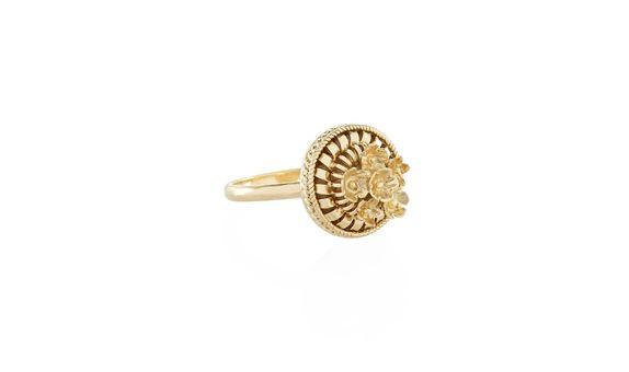 Canang Small Ring Gold Dip
