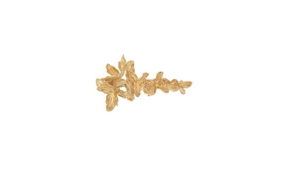 Puan Rekah Hair Clip Medium Gold Dip