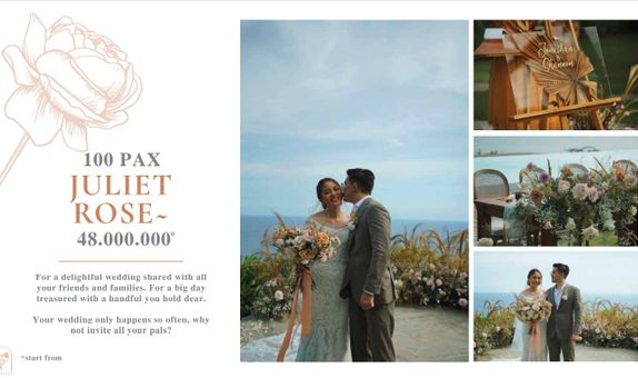 Catalina Intimate Wedding 100pax