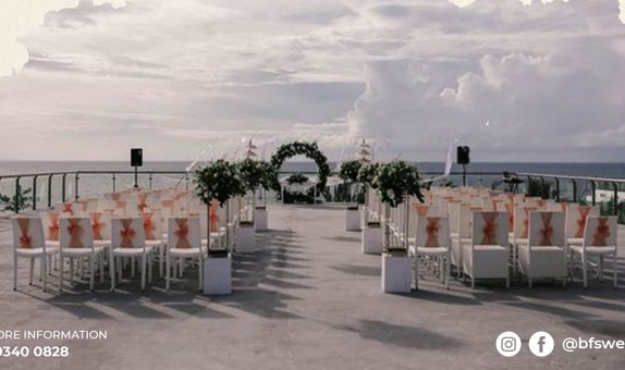 Klapa New Kuta Beach Wedding Package