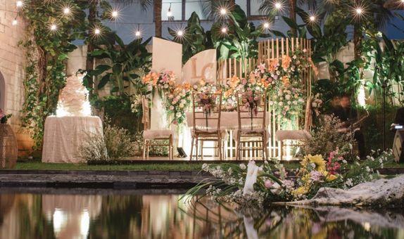 Bundle Wedding Package for 100 Pax - Pinkbow & Seribu Rasa Agus Salim