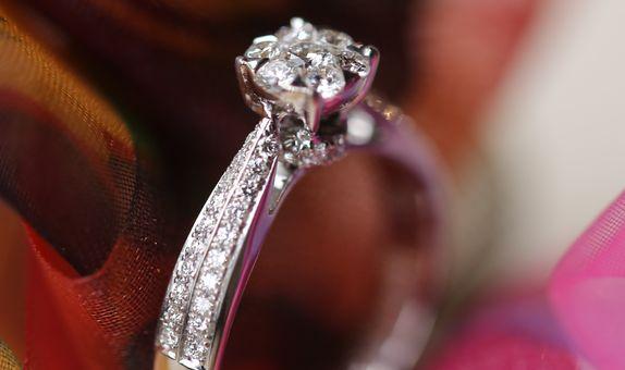 Edeline Diamond Ring