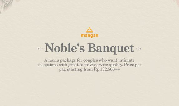 Noble's Banquet Wedding Package