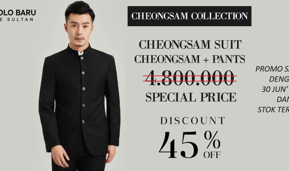 Cheongsam Suit Collection - MDN