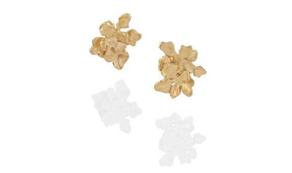 Flora Nirwana Studs Gold Dip