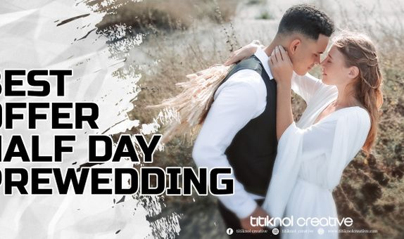 BEST OFFER - HALF DAY PREWEDDING