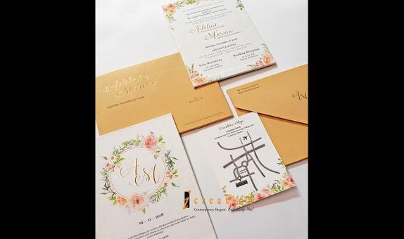 Wedding Invitation Floral 11