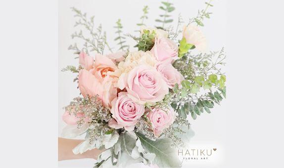 Romantic Summer Garden Bridal Bouquet