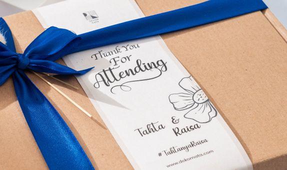 (CUSTOM) Wedding Souvenir Hampers / Souvenir & Seserahan Pernikahan