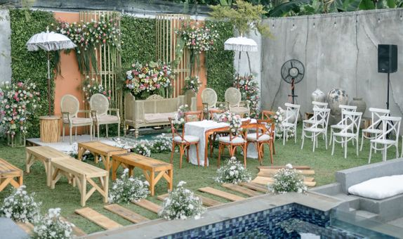 ALL IN PACKAGE 200 pax at SEMI OUTDOOR VENUE JAKARTA TIMUR
