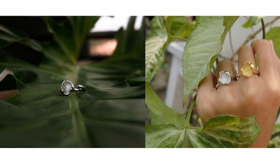 Ring-New Antique Irregular Pleated Adjustable Woman