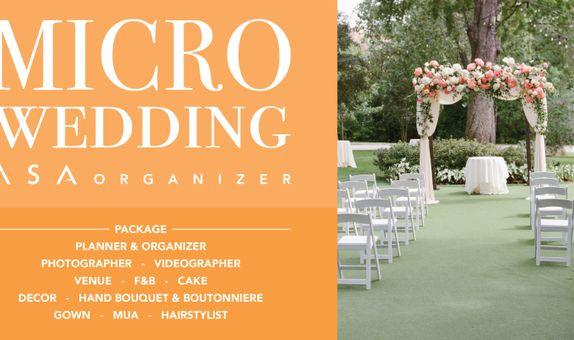 MICRO WEDDING - 18 PEOPLE / 7 HOURS