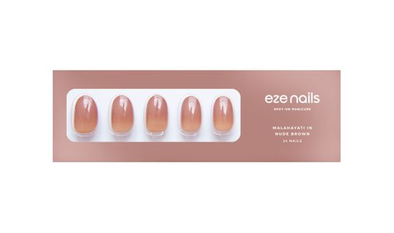 Eze Nails - Malahayati In Nude Brown Spot On Manicure