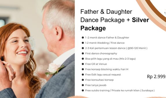 FATHER & DAUGHTER + SILVER PACKAGE