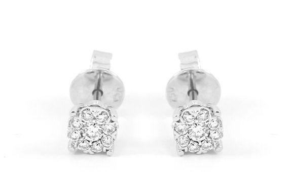 Anting Emas Berlian Wanita DEP0001 V&Co Jewellery