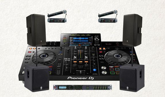 Package Soundsystem 3000W + XDJ-RX II