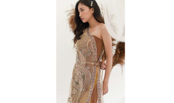 Custom Sangjit Dress