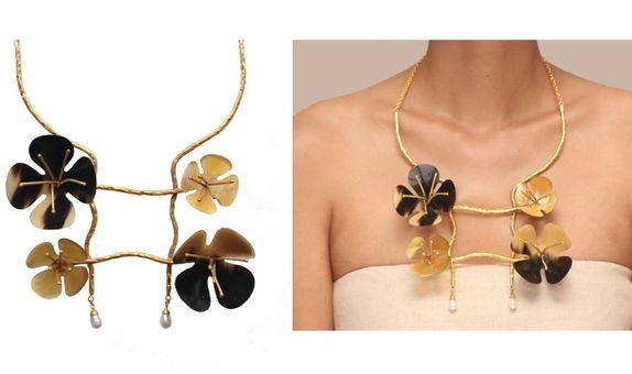Suwung Magnolia Necklace II