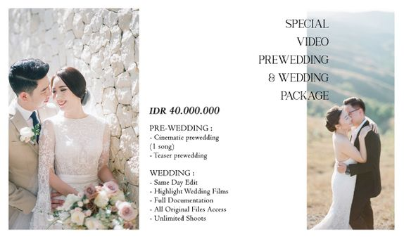 Video Prewedding & Wedding