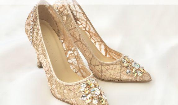 VINETTE - NUDE- 9cm - Wedding Shoes - Bride Shoes - Party Shoes