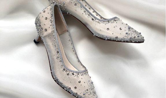 VINETTE - SILVER - 5cm - Wedding Shoes - Bride Shoes - Party Shoes