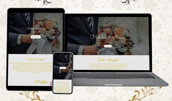 Website Wedding Invitation - DKN05