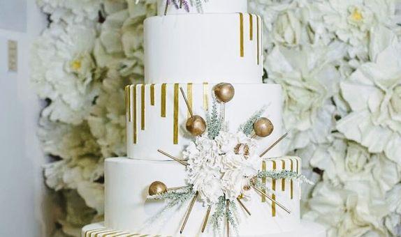 5 Tiers Wedding Cake I