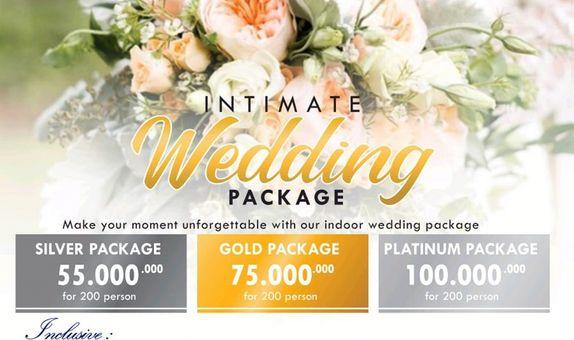 Intimate Wedding Package