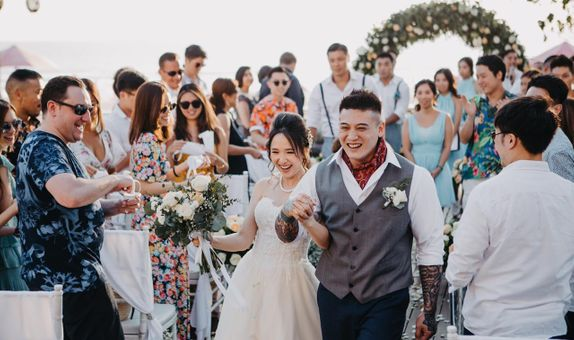 Anantara Seminyak Bali Resort - Anantara Sensational Sunset Wedding