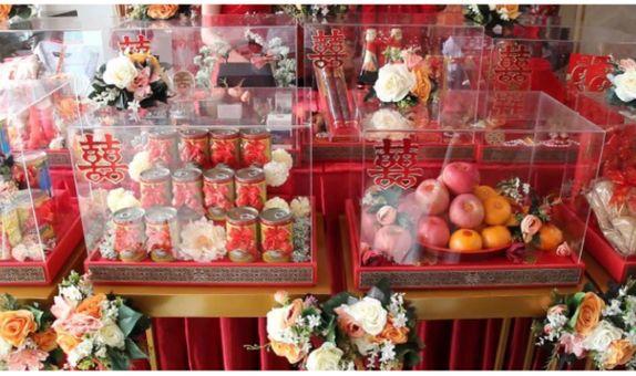 Sangjit Package : Decorated Premium Boxes