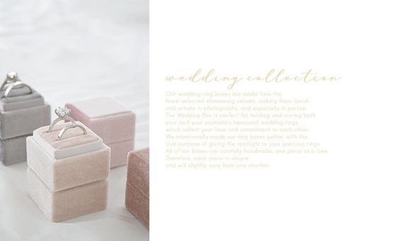 Ring Box - Wedding Collection