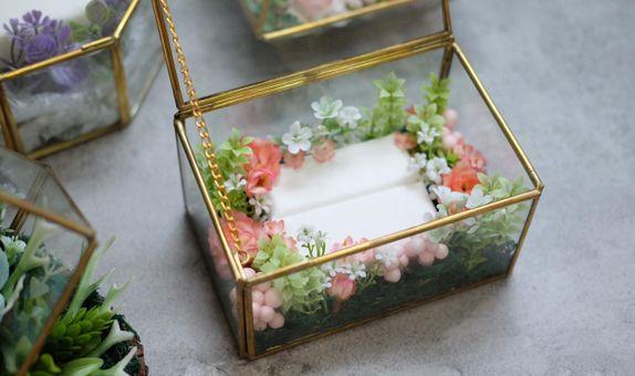 Glass Box (Terasure) Ring Bearer