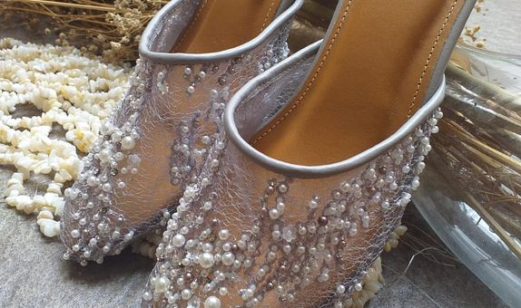 Wedding Shoes Valla Grey - Basic