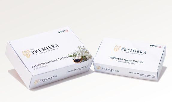 PREMIERA PEEL-OFF MASK + VITAMIN AMPOULE isi 5 masker dan 5 vitamin