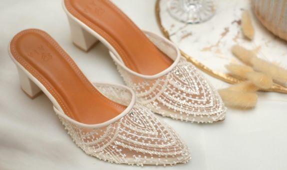 Wedding Shoes Custom Basic - Sephtia Broken White (7 cm)