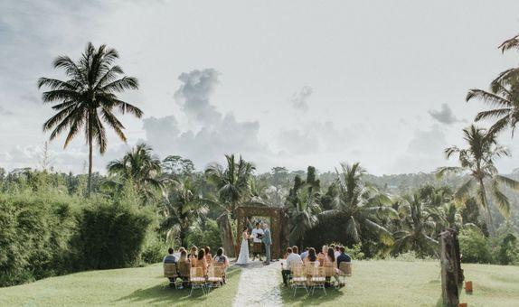 ALILA UBUD, BALI | WEDDING CEREMONY, 10 PAX