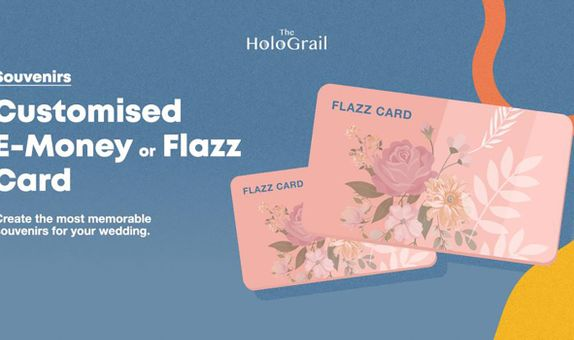 Customised Holographic Flazz or E-Money for Gifts or Souvenirs