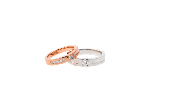 SIORAI Wedding Ring WR003150554001 Ciincin Wedding Berlian (Pre Order)