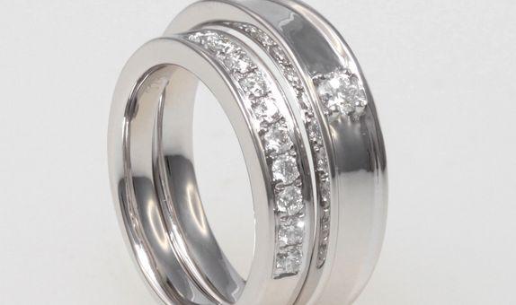 SIORAI Wedding Ring WR003150580001 Cincin Wedding Berlian (Pre Order)