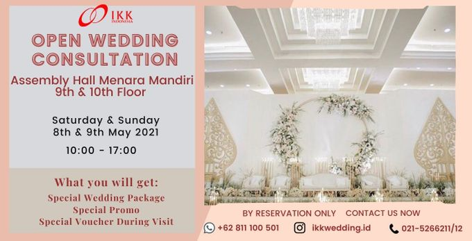IKK Open Wedding Consultation