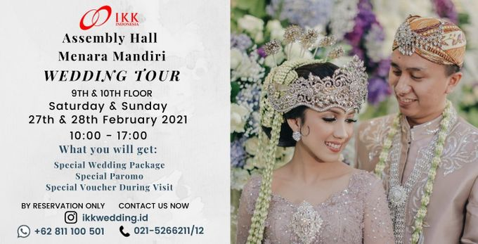 IKK  Wedding Ballroom Tour! Get Special Offer On Your Visit