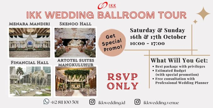 IKK WEDDING BALLROOM TOUR