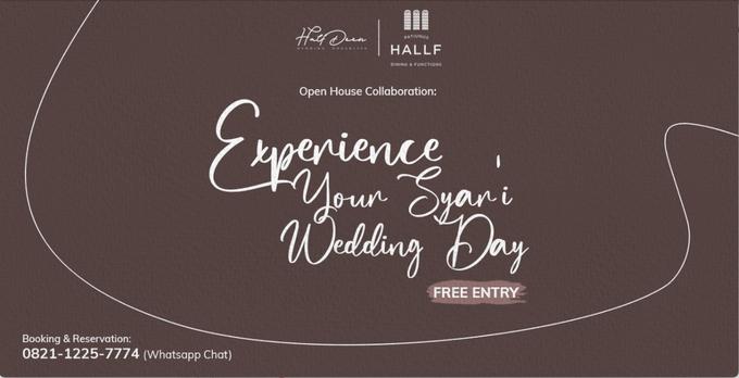 Experience Your Syar'i Wedding Day