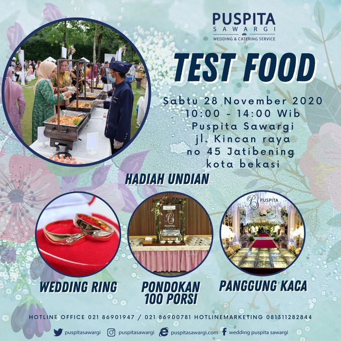 Weekly Test Food by Puspita Sawargi