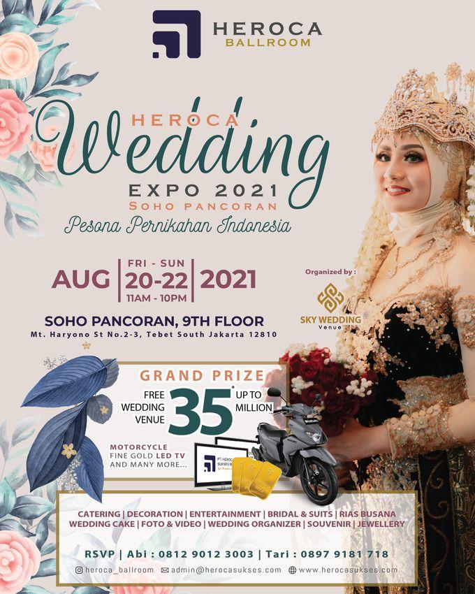 HEROCA WEDDING EXPO 2021 Organized by Sky Wedding Organizer