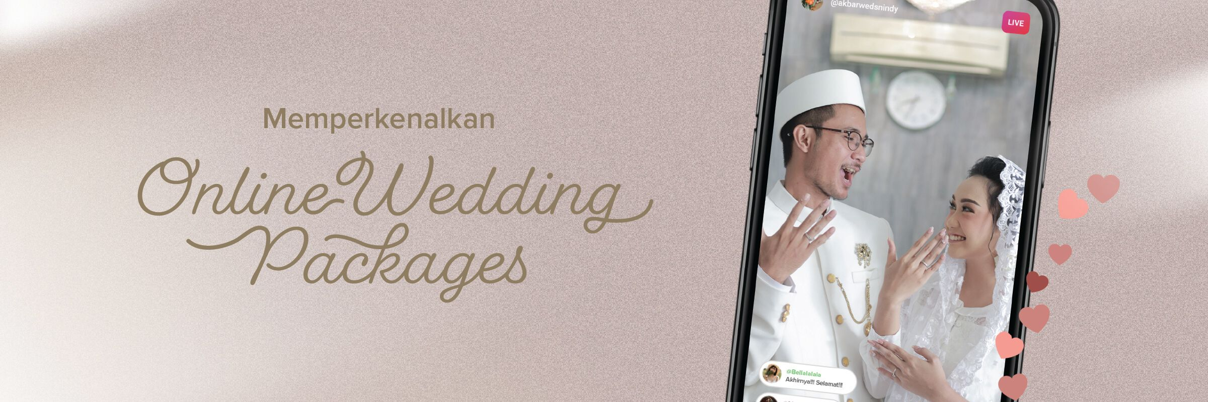 Online Wedding Packages