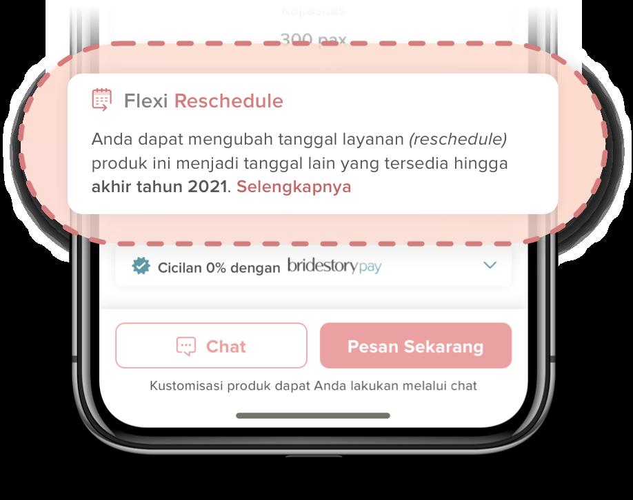 Flexi Reschedule Payment