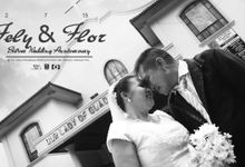 Flor and Fely Silver Wedding Anniversary by Pix N Frames