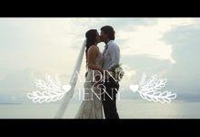 Aldino & Jenny Wedding Highlight by icinema bali