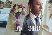 Celebrates love with Elvin & Amelia - Church Wedding Day Same Day Edit Video by Aplind Yew Production - Wedding Cinematography & Photography